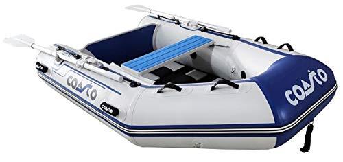 COASTO Schlauchboot mit Carbon Lattenboden, Dingi, Beiboot, Motorboot, Ruderboot, 200cm