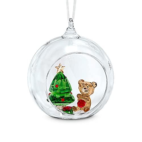 Christmas Ornament Ball Ornament, Christmas Scene, Crystal Ornament