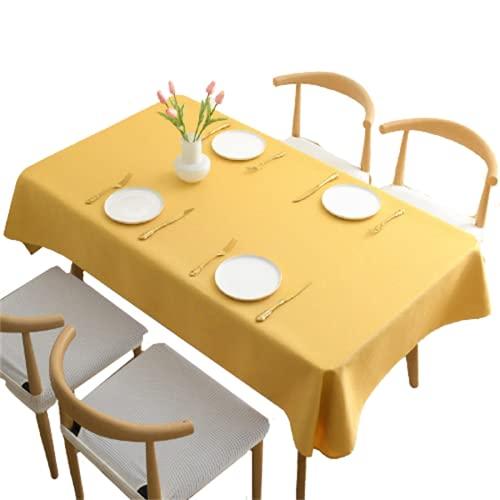 Mantel De Color Puro/Mantel Impermeable De Poliéster/Mantel Rectangular/Mesa De Centro/Adecuado para Sala De Estar/Cocina/Mesa De Comedor/Jardín/Mueble De TV 90x135cm