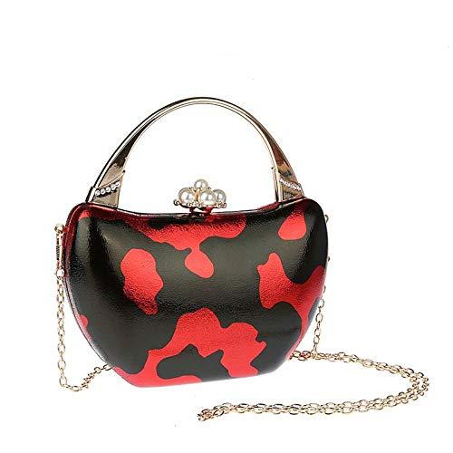 xiangpi portable dinner bag, banquet bag, party bag, evening dress bag-red