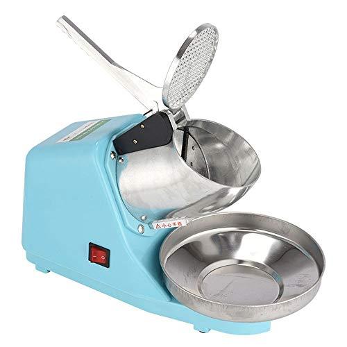 Trituradora de Hielo de Bajo Consumo Picadora de hielo, el hielo de la máquina de afeitar eléctrica, for trabajo pesado de hielo máquina de afeitar de la máquina de acero inoxidable eléctrica de la cu
