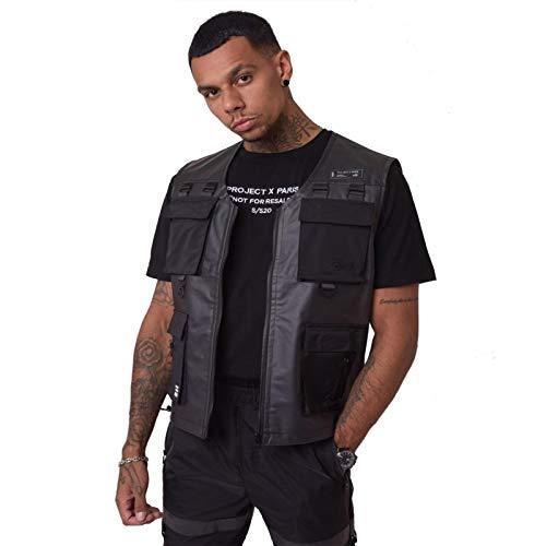 Vest, zonder mouwen, transparant, voor heren Project X Paris