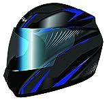 Stormer casco integral Kid Rules Arrow azul talla Deco Color Azul, talla XS