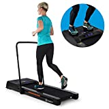 KLAR FIT Workspace Fusion Tapis de Course & Plaque vibrante - Tapis de Course: 1-12 km/h, Plaque...