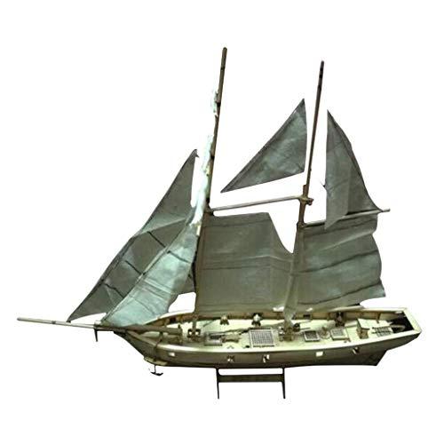 Homyl Holz Modellschiff Flaggschiff Segelschiff Schiff Modellbausatz Basteln