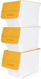 ZTMN Panier de Rangement Boîte de Rangement Boîte de Rangement pour vêtements superposés Boîte de Rangement Boîte de Range...