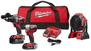 milwaukee cordless drill combo set