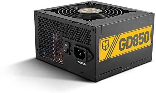 Nox Hummer GD 850W 80 Plus Gold - NXHUMMER850GD - Fuente de Alimentación (850 W), Color Negro