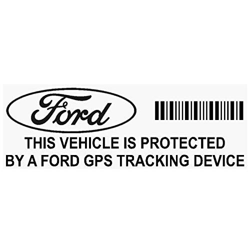 Platinum Place PPFORDGPSBLK - Lote de 5 adhesivos para dispositivo de seguimiento GPS (87 x 30 mm), color negro