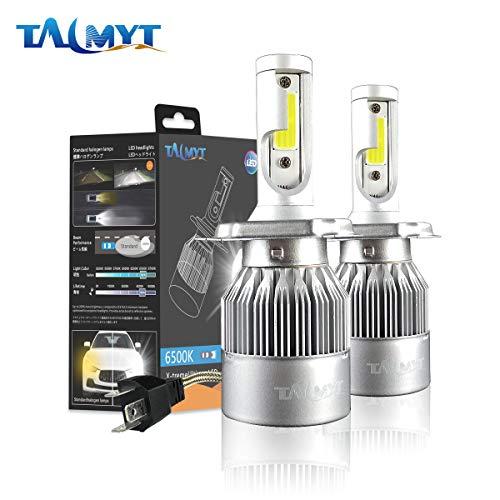 Bombilla H4 LED Coche, 72W / Set 10000LM LED Faros Delanteros Bombilla