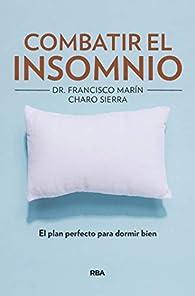 Combatir el insomnio par Charo Sierra