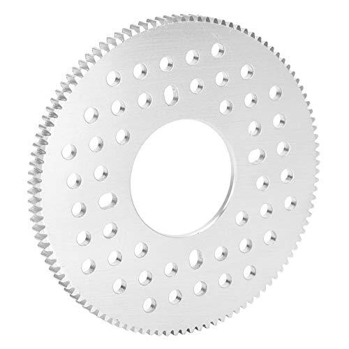 DAUERHAFT Mod 0.8 Gear Aluminio Engranaje Recto 0.8 32mm Agujero Central 108 Dientes