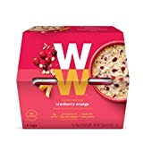 WW Cranberry Orange Oatmeal Instant Oatmeal - 3 SmartPoints - 1 Box (4 Count Total) - Weight Watchers Reimagined