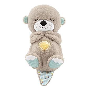 Otter mit beruhigender Musik und rhythmischen Bewegungen für Babys ab der Geburt 11 Sensorik-Spielzeuge fördern den Seh-, Hör- und Tastsinn des Kindes Der Otter ahmt die rhythmischen Atembewegungen nach, um das Kind auf natürliche Weise zu beruhigen ...