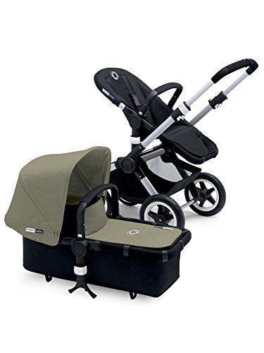 Product Image of the Bugaboo Buffalo Complete Stroller - Dark Khaki - Aluminum