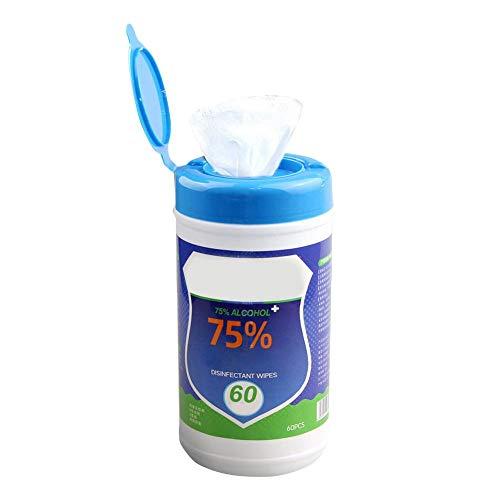 Gezichtsreinigingsdoekjes, draagbaar, 75 wegwerphanddoeken, huidspeelgoed, reinigingsdoekjes van katoen, make-up-verwijderaar – 60 vellen/verpakking