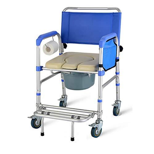 Toilet Seat Toilet Seat for Ouderen, toiletbril for zwangere vrouwen met een handicap, rolstoel bijgestaan Plank met armleuningen, rolstoelen met toilet, MultifunctionalComfortable toiletstoel