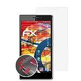 atFolix Schutzfolie kompatibel mit Haier Voyage V3 Folie, entspiegelnde & Flexible FX Bildschirmschutzfolie (3X)