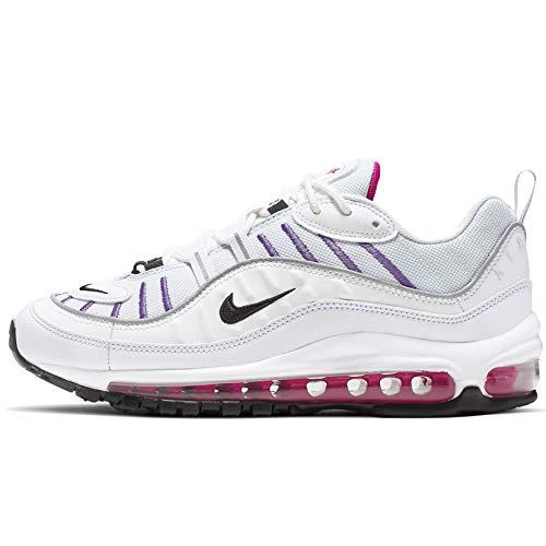 Nike Damen Air Max 98 Ah6799-023, Wei� (Fußball grau/schwarz-gipfel weiß), 38 EU