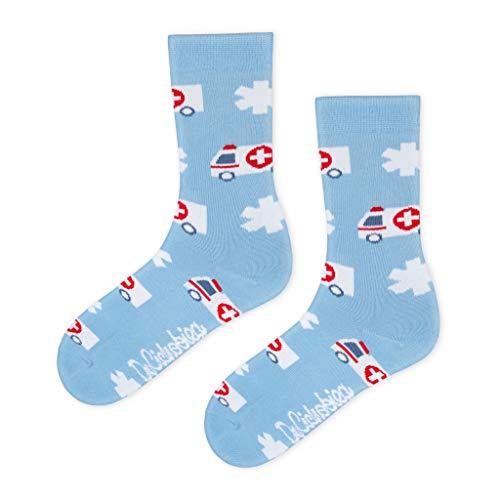 DrSoftStep Socken | 41-46 | Lustig Bequem Geschenk | Geburtstag | Arbeit Job | CPR Socks
