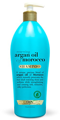 OGX Salon Size Renewing Argan Oil of Morocco Shampoo 25.4 Ounce (Pack of 4)