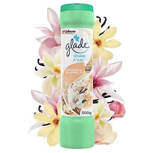 Glade Shake 'n' Vac Carpet Cleaner 500g Magnolia & Vanilla