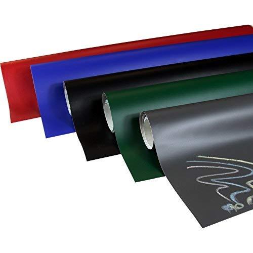 Rapid Teck® 16,65€/m² Tafelfolie selbstklebend dunkel Grau 30cm x 200cm– Multifunktions-Folie – Klebe-Folie Möbelfolie
