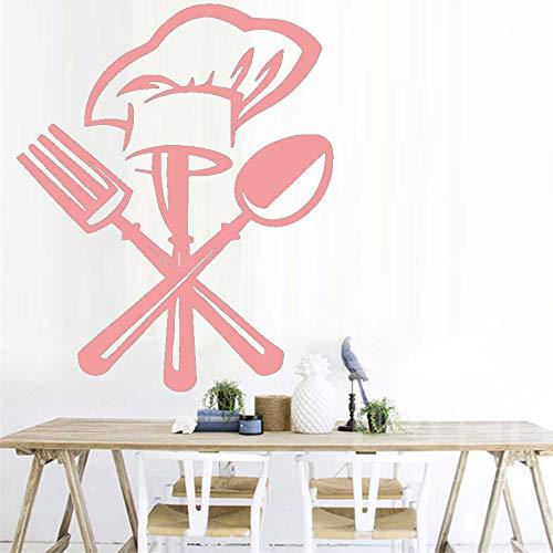 Eine Schokolade Kuchen Wandkunst Aufkleber Für Küche Restaurant Moderne Abnehmbare Wasserdichte Tapete Vinyl Wandaufkleber Für Wohnkultur ~ 1 36 * 44 cm
