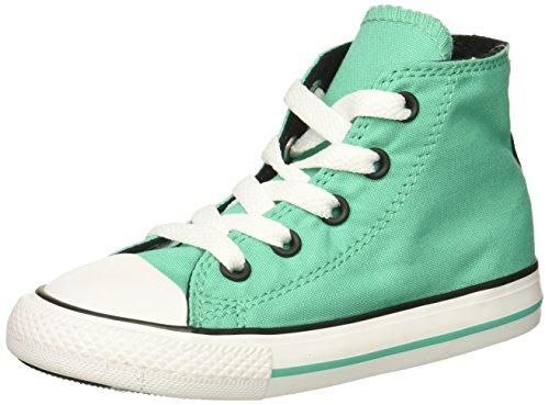 Converse Girl's Chuck Taylor All Star 2018 Seasonal High Top Sneaker, Pastel Green, 13 M US Little Kid