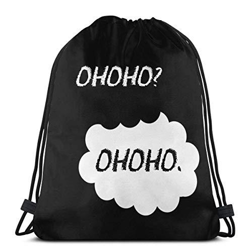 Boweike Unisex Drawstring Bags Sport Gym Backpacks Storage Goodie Cinch Bags Akagi Redsuns Initial D