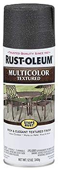 Rust-Oleum 223525 Stops Rust Multi-Color Textured Spray Paint 12 oz Aged Iron 12 Fl Oz
