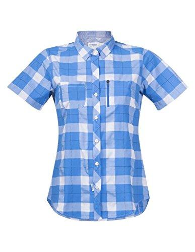 Bergans Jondal - T-shirt manches courtes - bleu/blanc Modèle S 2017 tshirt manches courtes