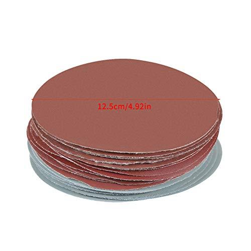 Robustes Aluminiumoxid-Schleifpapier, Schleifscheiben, Schleifenklebe-Lochhaken, Antistatik für Trockenbauschleifer