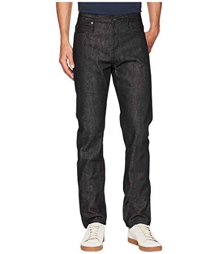 The Unbranded Brand Men's UB104 Skinny Black Selvedge
