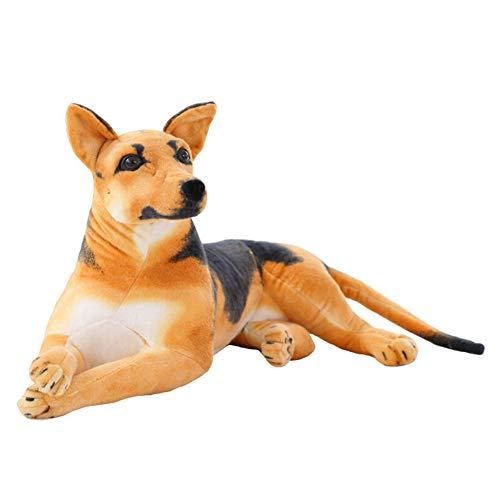 ERDAO Realistic Stuffed Animal Dogs,Lifelike German Shepherd Dog Plush Toy (23.6 inch)