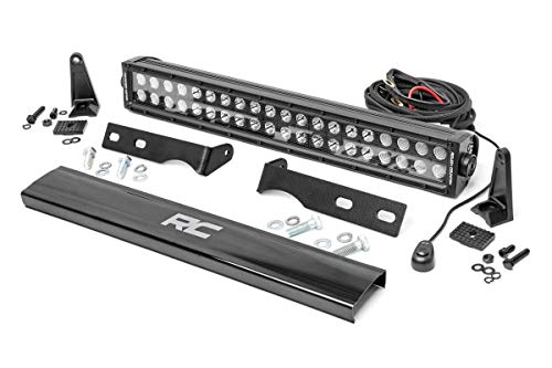 Rough Country 20' LED Bumper Kit (fits) 2011-2020 Jeep Grand Cherokee WK2 | Dual Row LED Light Bar | BS | 70773