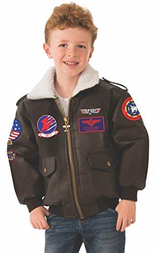 Child's Top Gun Bomber Jacket - 4 Sizes