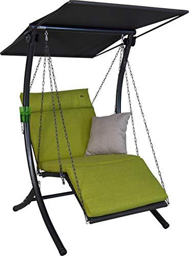 Angerer Swing Smart Hollywoodschaukel, grün, 1-Sitzer