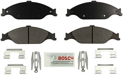 Bosch BE804H Blue Disc Brake Pad Set with Hardware for select 1999-04 Ford...