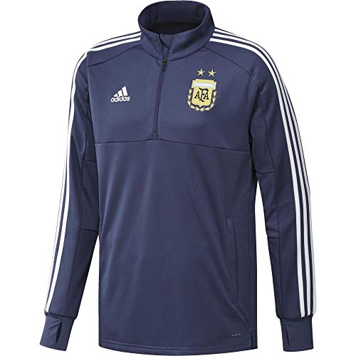 adidas AFA TR Top Sudadera de Entrenamiento Argentina, Hombre, Morado (mornat/Blanco), S
