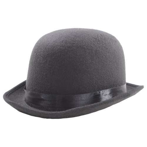Wicked Costumes - Cappello a bombetta inglese, vintage