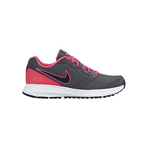 Nike Wmns Nike Downshifter 6 - dark grey/black-pink foil-whit, Größe:5
