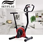 SkyFlag Gym Equipment Magnetic Exercise Bicycle with Cardio for Home & Gym