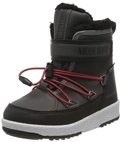 Moon Boot Jungen Jr Boy Boot Wp Schneestiefel, Grau (Grigio 002), 33 EU