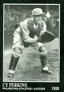 Cy Perkins Baseball Card (Philadelphia Athletics) 1991 Sporting News Conlon Collection #185