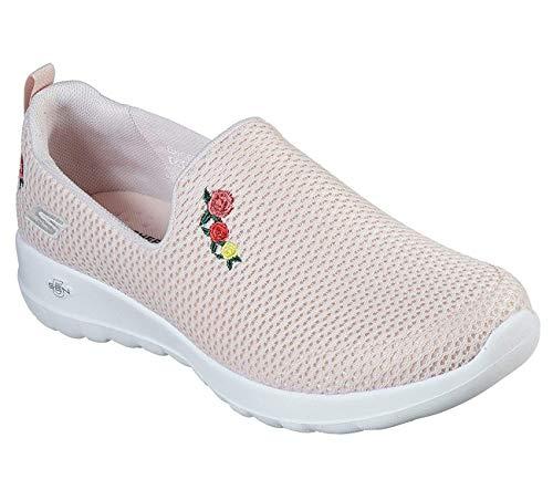 Skechers GO Walk Joy Loved Womens Slip On Sneakers Light Pink 7.5 Narrow