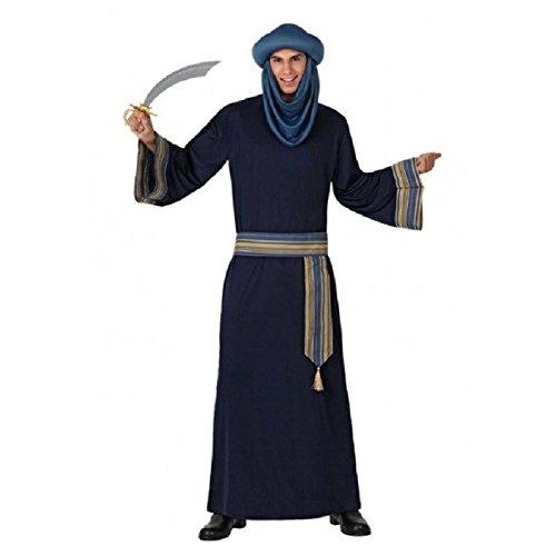 Atosa - 15296 - Costume - Déguisement De Berbère Bleu - Adulte - Taille 2