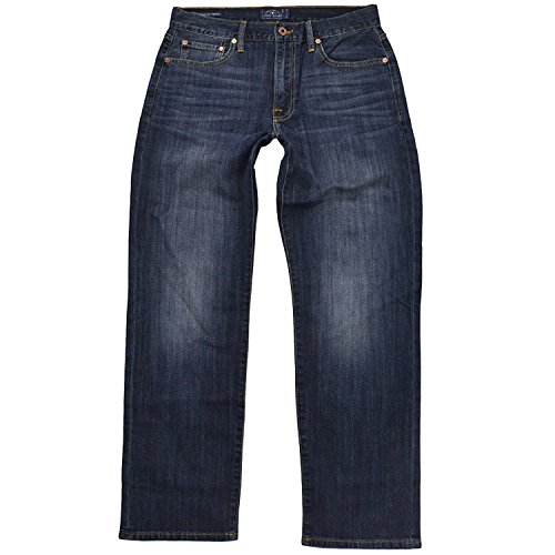 Lucky Brand Men's 429 Classic Straight Fit Jean (30x30, Denali Brown Patch)