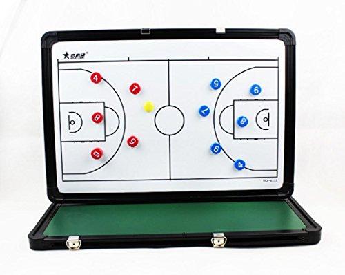 Grafico di attrezzature del coach pannello di tattiche di basket degli insegnanti di educazione fisica