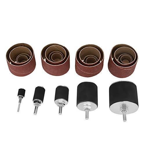 Kit de tambor de lijado, con estuche de almacenamiento Kit de lijado de alta calidad, para mejorar el hogar con madera